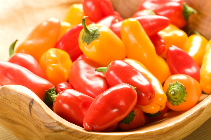 small bell peppers
