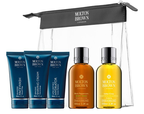 MOLTON BROWN London Men's Carry-On Set