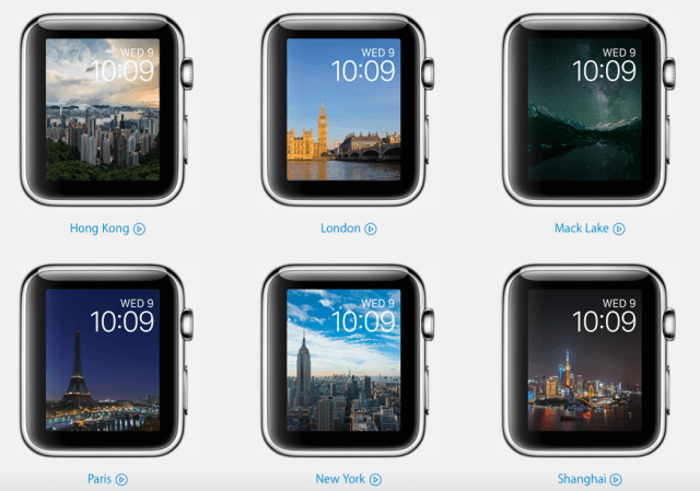 New Apple Watch faces with watchOS 2