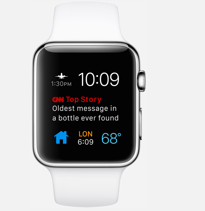 New customized complications for Apple Watch in watchOS 2