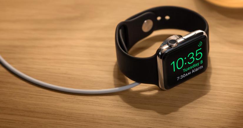Nightstand Mode for Apple Watch in watchOS 2