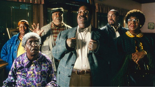 The many faces of Eddie Murphy (and Jamal Mixon) in 'Nutty Professor 2 The Klumps'