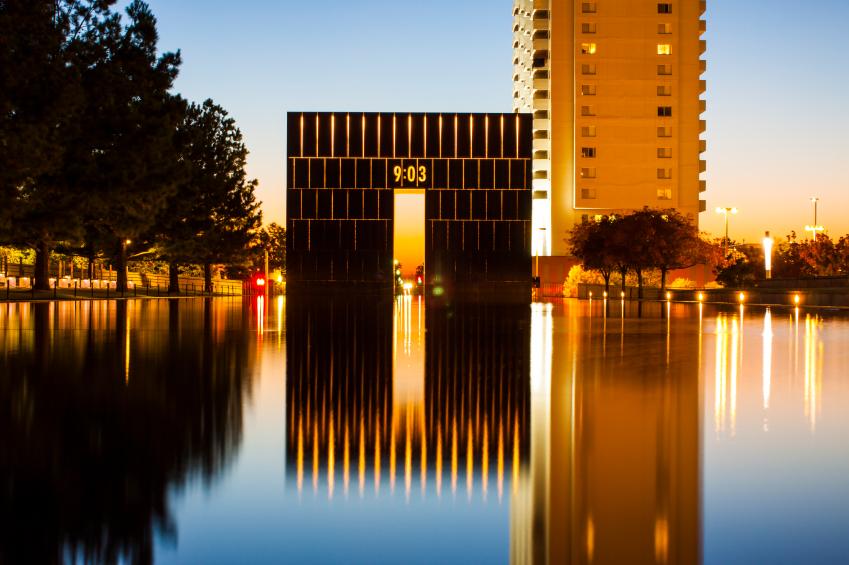 Oklahoma City National Memorial - West Gate