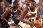 Throwback Throwdowns: Shawn Kemp Dunks on Golden State