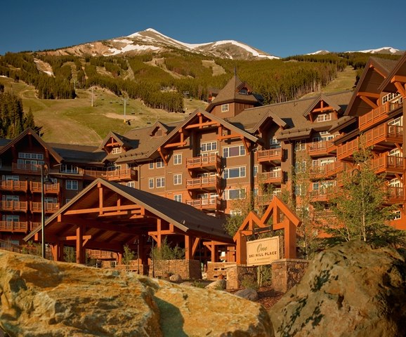 One Ski Hill Place, A RockResort, Breckenridge, Colorado - Exterior-summer, web