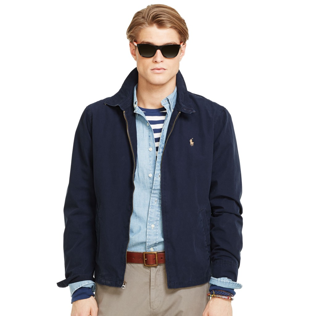 Ralph Lauren cotton windbreaker