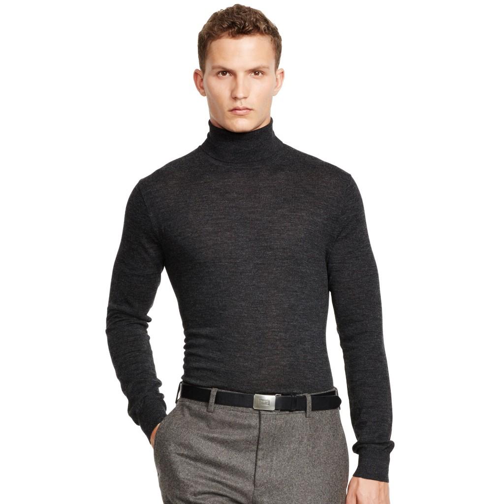 Ralph Lauren merino wool turtleneck sweater