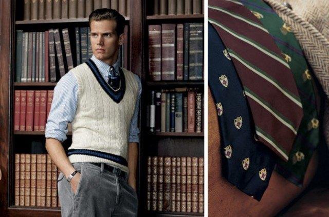 Ralph Lauren repp ties