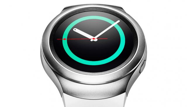 Samsung Gear S2 smartwatch in silver