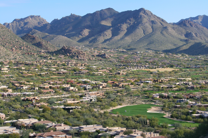Scottsdale community golf course