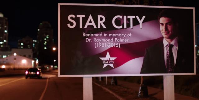 Ray Palmer - The Arrow, the CW
