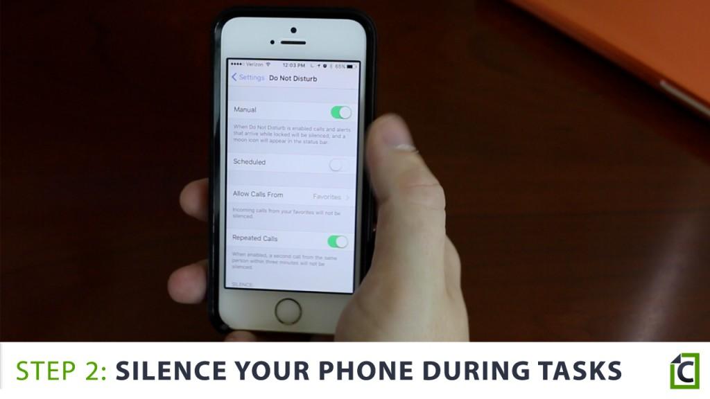 Silence your phone