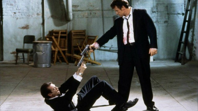 Steve Buscemi and Harvey Keitel in 'Reservoir Dogs'