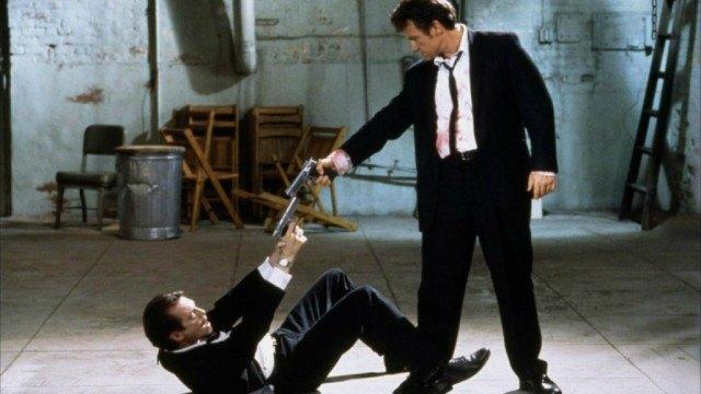Steve Buscemi and Harvey Keitel in 'Reservoir Dogs'