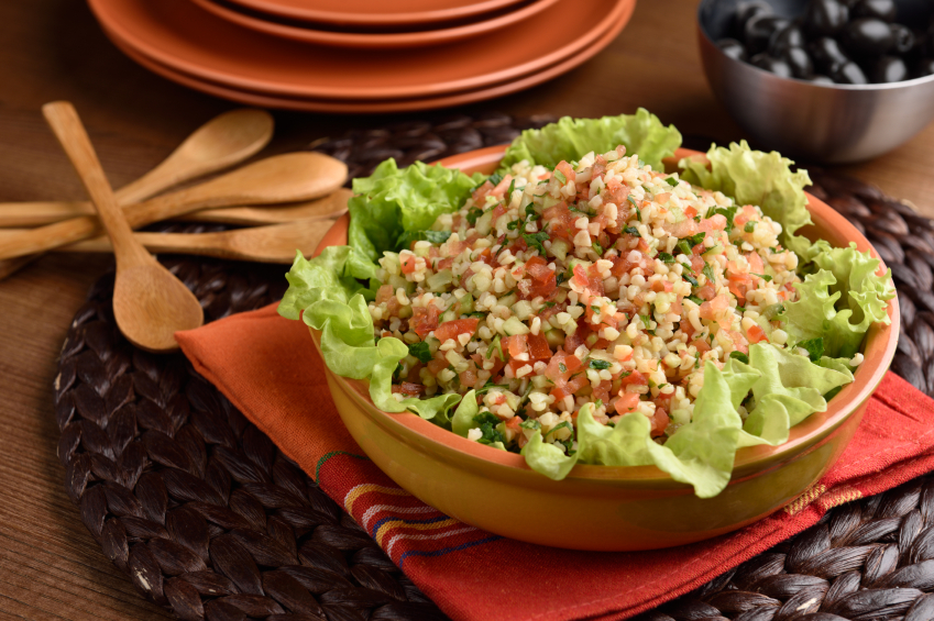 Bulgur is an excellent source of healthy carbs.