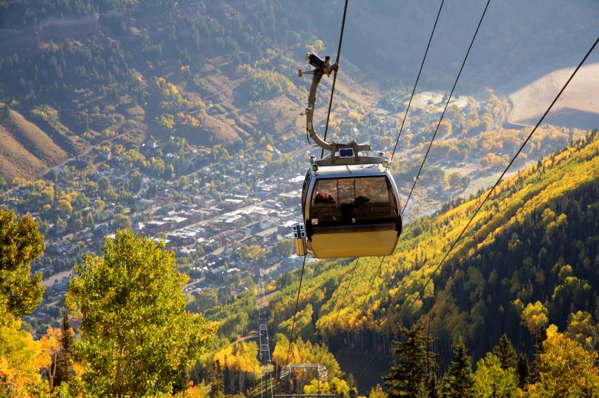 Telluride, colorado, gondola, ski