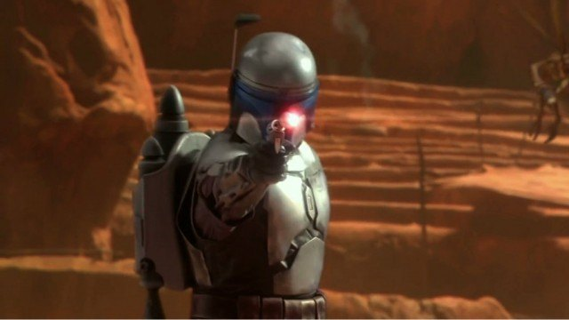 Temuera Morrison in Star Wars: Attack of the Clones