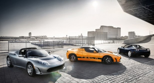 Tesla-Roadsters