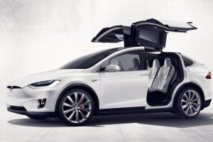 The Model X: Introducing Tesla's First SUV