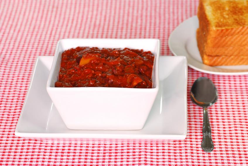 Texas chili with brisket