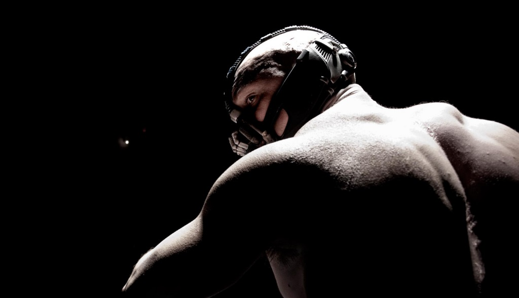 Tom Hardy as Bane in The Dark Knight Rises | Warner Bros.