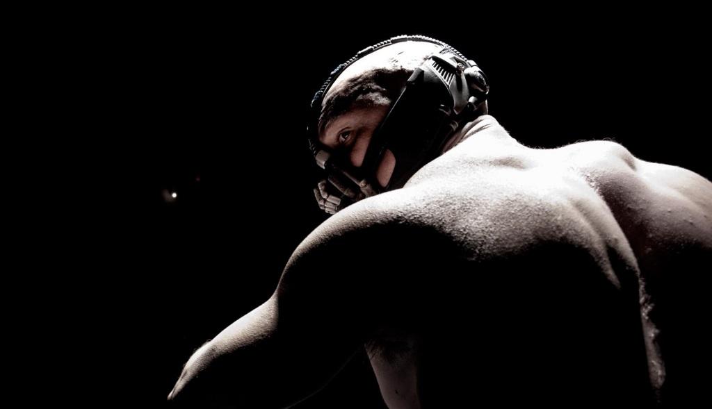 Tom Hardy as Bane in The Dark Knight Rises | Warner Bros.