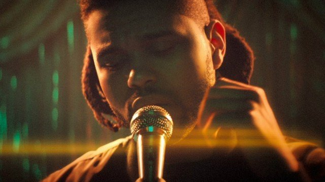 """The Weeknd in """"Can't Feel My Face"""""""