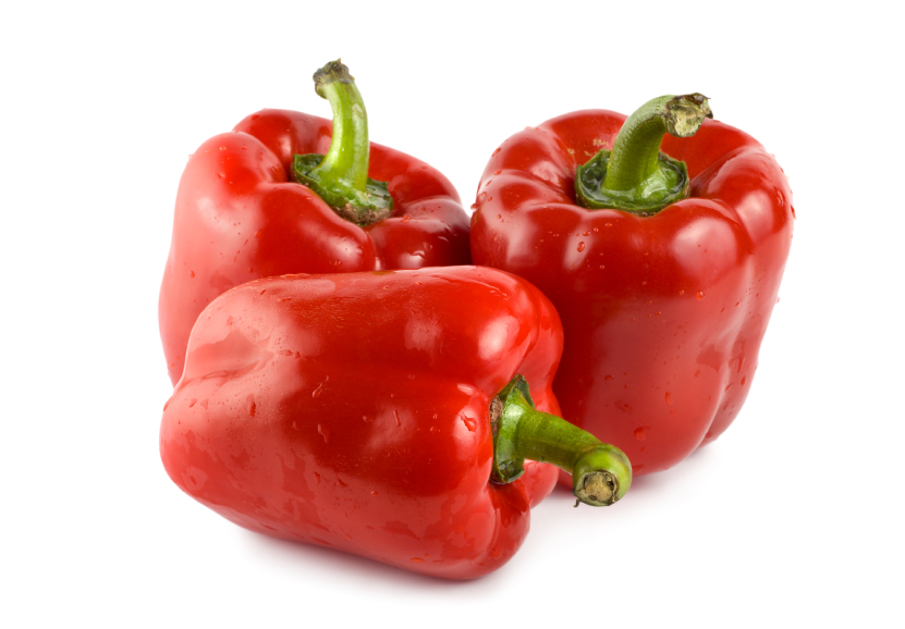 red peppers