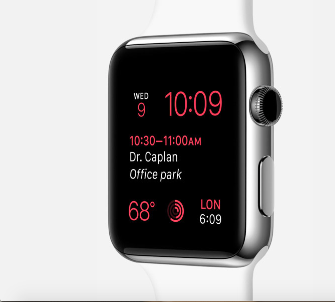 Time Travel on Apple Watch with watchOS 2