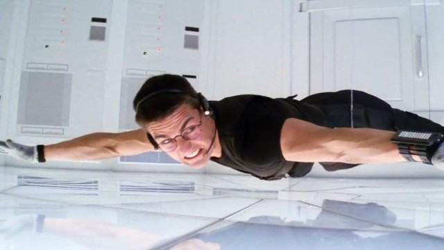 Tom Cruise in 'Mission Impossible'