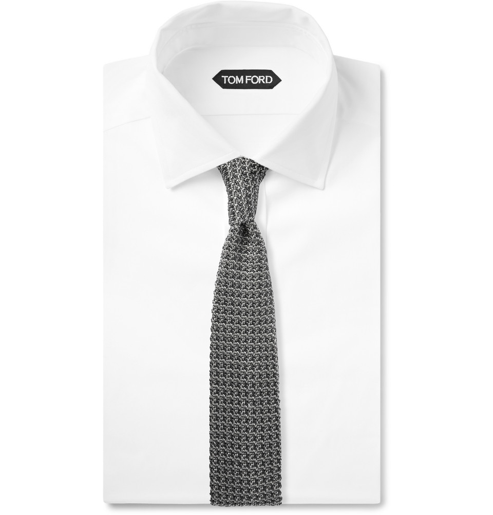 Tom Ford Knitted Silk Tie