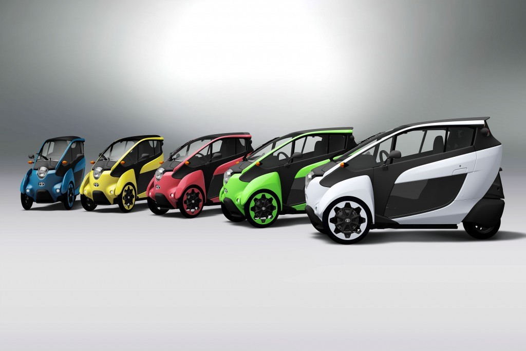 Is Toyota Preparing A U S Launch For Its Electric I Road City Car