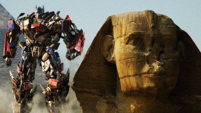 Optimus Prime in 'Transformers: Revenge of the Fallen'