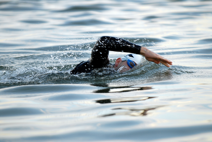 open water swimming, traithlon