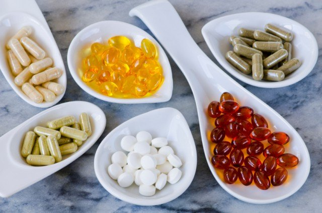variety of supplements