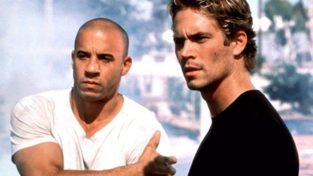 Vin Diesel and Paul Walker in The Fast and the Furious