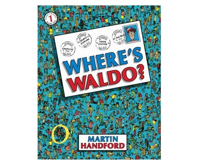 Cover art for Where's Aldo, with a postcard on the front