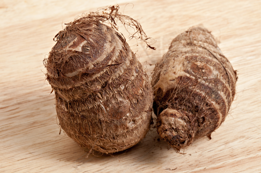 Pay attention to how you cook your taro root before eating.