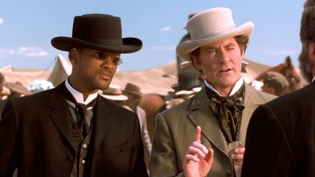 Will Smith and Kevin Kline in 'Wild Wild West'