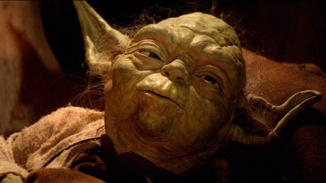 Yoda in Star Wars: Return of the Jedi