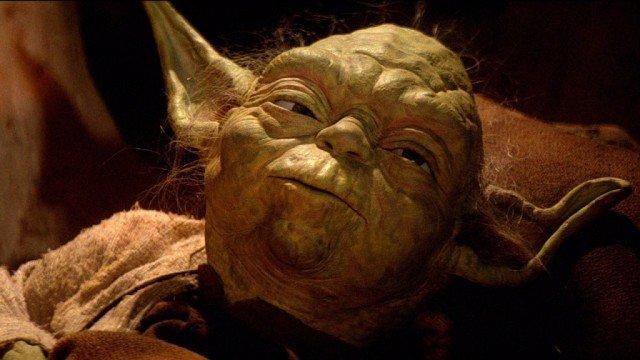 Yoda in Star Wars: Return of the Jedi
