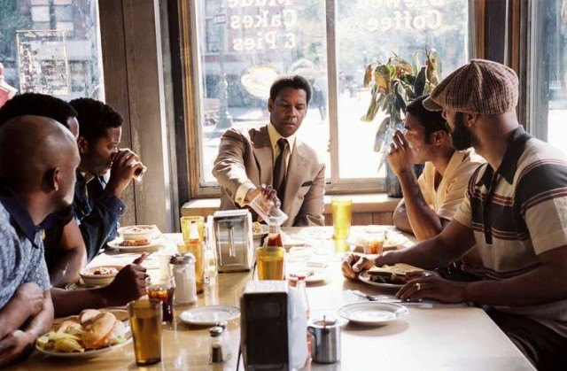 Denzel Washington in 'American Gangster'