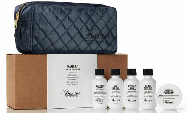 Baxter of California Travel Kit