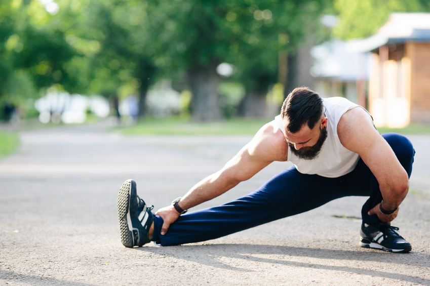 exercise, stretching