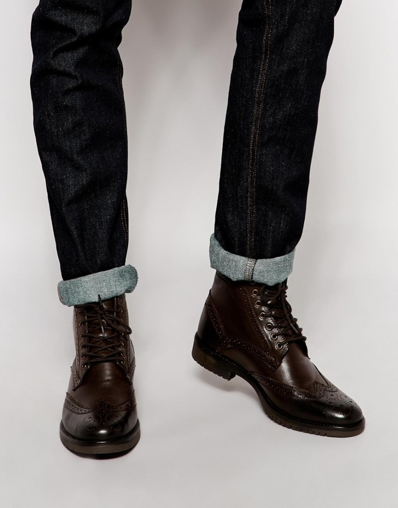 Brogue Boots Asos Asos Brogue Boot