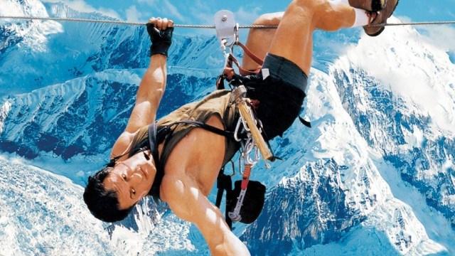 Sylvester Stallone in 'Cliffhanger'