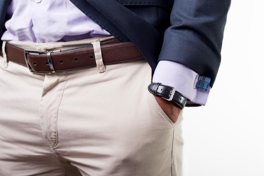 cuffs, pants, white pants, belt