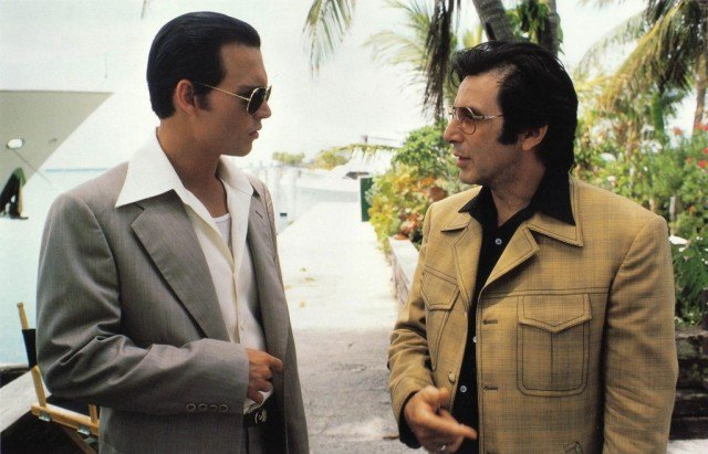 Johnny Depp and Al Pacino in 'Donnie Brasco'