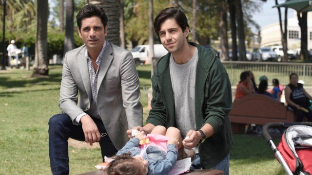 John Stamos and Josh Peck in 'Grandfathered'