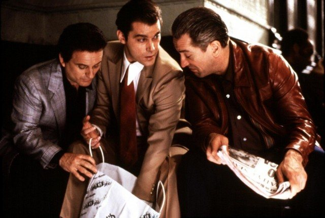 Joe Pesci, Ray Liotta and Robert De Niro in 'Goodfellas'
